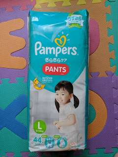 Pampers Dry Pants (44). L size
