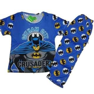 Batman  Pajama Terno For Kids