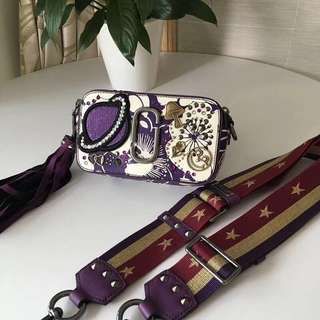 Marc Jacobs Snapshot Camera Bag - funky purple