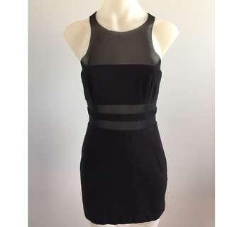Bec & Bridge mesh cut out dress (size 8)