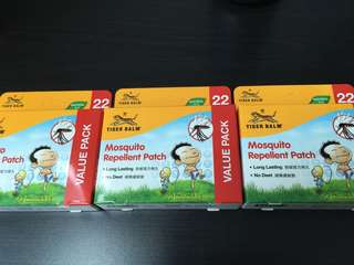 【22×4pack】Tigerbalm mosquito patch