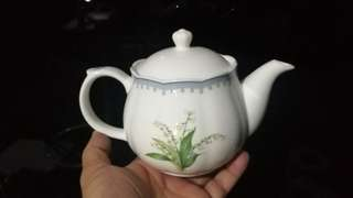 Nikko teapot fine bone china japan
