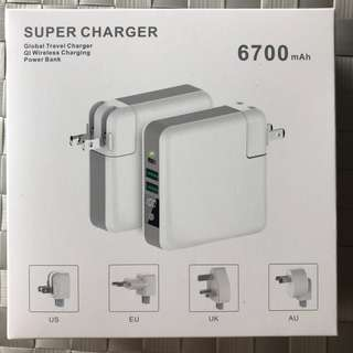 Global Travel Charge / Power Bank / Wireless Charging