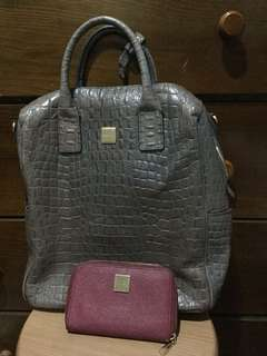 All-in Sisley 2-way bag and Wallet