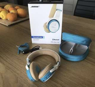 Authentic Bose Soundlink On-Ear Headphones [Barely Used]