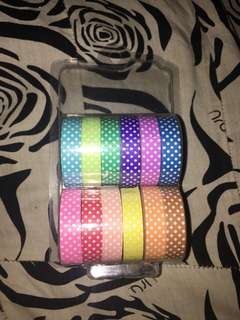 Decorated Tapes