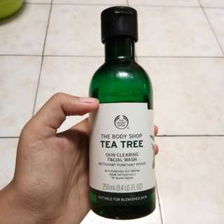 Body shop facial wash