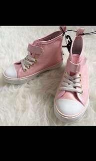 H&M girls shimmer sneakers