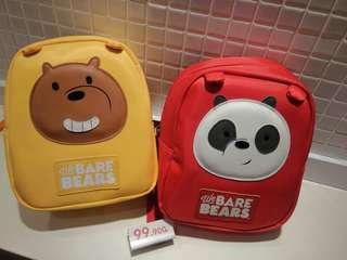 Miniso we bare bears bag