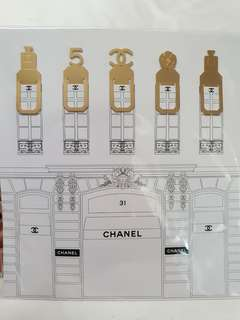 CHANEL limited edition paper clips