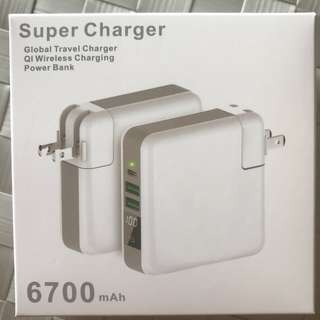 Global Travel Charger / Wireless Charging / Power Bank