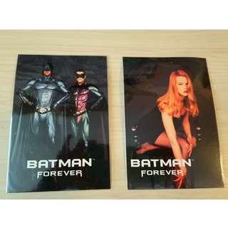 Batman 1995 年 Post Cards 兩張齊售 - $30 22/04