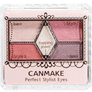 ❴最後一支!!❵【日本搶手 canmake】 立體眼影盤 #14 完美色計