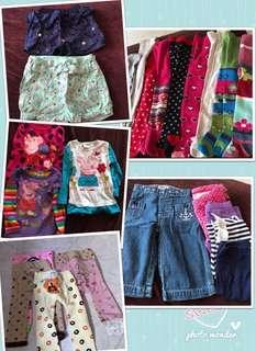 24pcs for $40 Bundle Girls Clothes ($1.60 each)