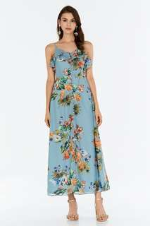 The Closet Lover - Valentine Floral Printed Dress (Size M)
