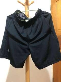 Under Armour全新UA運動訓練短褲 黑 8吋 尺寸S