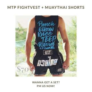 MTP Muay Thai training gear — singlet/Vest