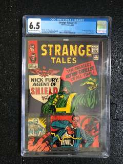 Strange Tales #135 marvel comic rare hot toys CGC 6.5