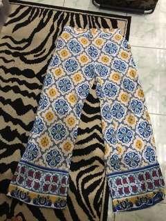 "REPRICED!! ""Ateeza"" Moroccan Print palazzo pants"