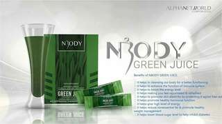 Get slim by this Green Juice of NWorld