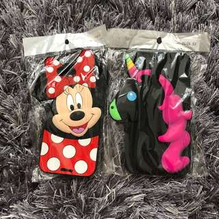 MINNIE MOUSE AND UNICORN RUBBER CASES FOR IPHONE 7