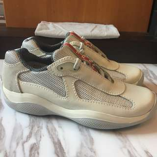 Prada retro sneakers 復古波鞋 size 35.5
