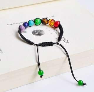 7 chakra healing beaded bracelet