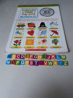 Alphabet cards and Calendar Time Sing-Along flip chart & CD