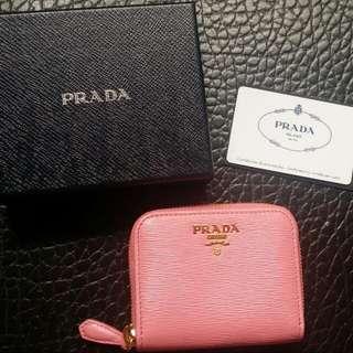 Brand new Prada card holder/ coin bag