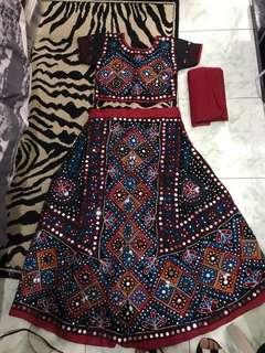 REPRICED!! Brand New Indian Sari Set