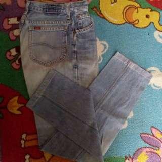 Celana jeans Lee #carousellcintabumi