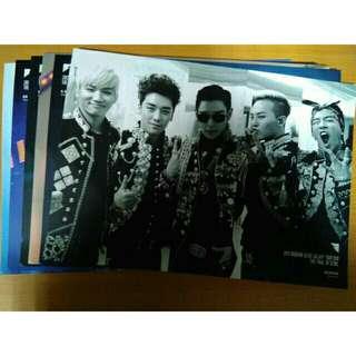 BIGBANG ALIVE 大型立牌組