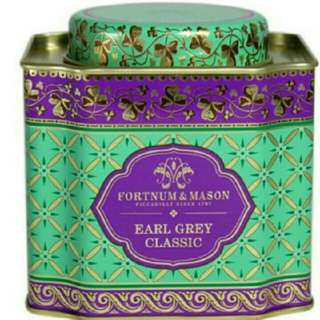 【英國皇家品牌】 Fortnum & Mason EARL GREY CLASSIC 經典伯爵紅茶茶葉 125G