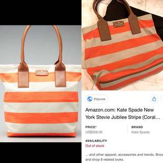 REPRICED : Auth Kate Spade NYC Summer Jubilee Tote (from 3,800)
