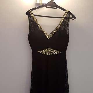 Black Dress / Long Black Gown