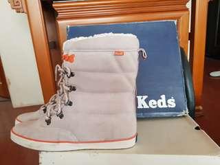 全新未穿正品keds雪靴
