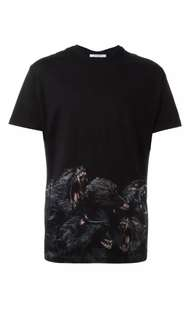 Men's Givenchy Baboon Print Shirt Size S RRP $1175