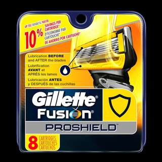 🚚 Gillette Fusion Proshield Blade Cartridge Refills 8s
