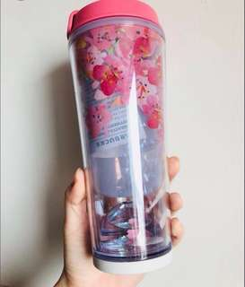 Starbucks Tumbler 355ml 水晶櫻花杯