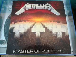 Metallica Master of Puppet 1986 Music For Nations LP Vinyl Record