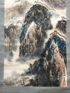 画家朱安生Chinese painting