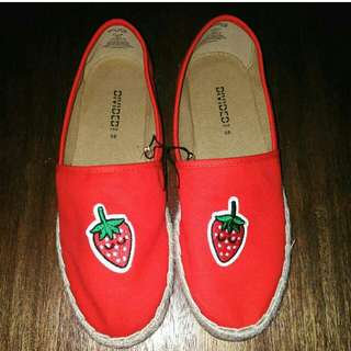 H&M Strawberry Red Shoes