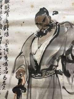 画家張卫Chinese painting 68x47cm