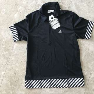 Adidas Female Dry Fit Polo Tee UV protection