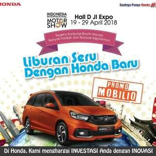 Promo Spesial Honda di IIMS, Dapatkan Penawaran spesialnya