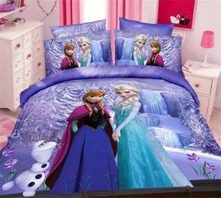 🎊 Promo Frozen Fitted Sheet Set
