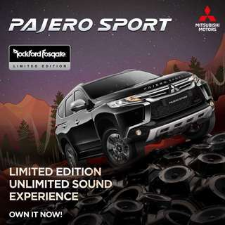 NEW PAJERO SPORT LIMITED EDITION