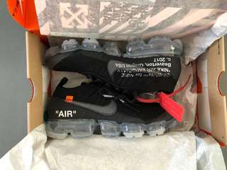 Brand New Off White x Nike Vapormax Size US7