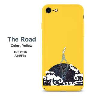 Yellow Rabbit Case for OPPO a59/F1s a39/a57 HUAWEI GR3 2017