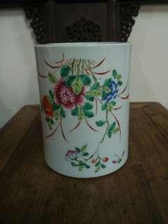 清粉彩花瓶